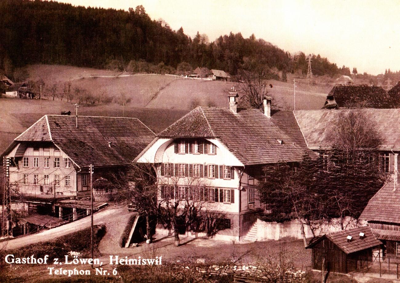 Gasthof zum Löwen - Heimiswil