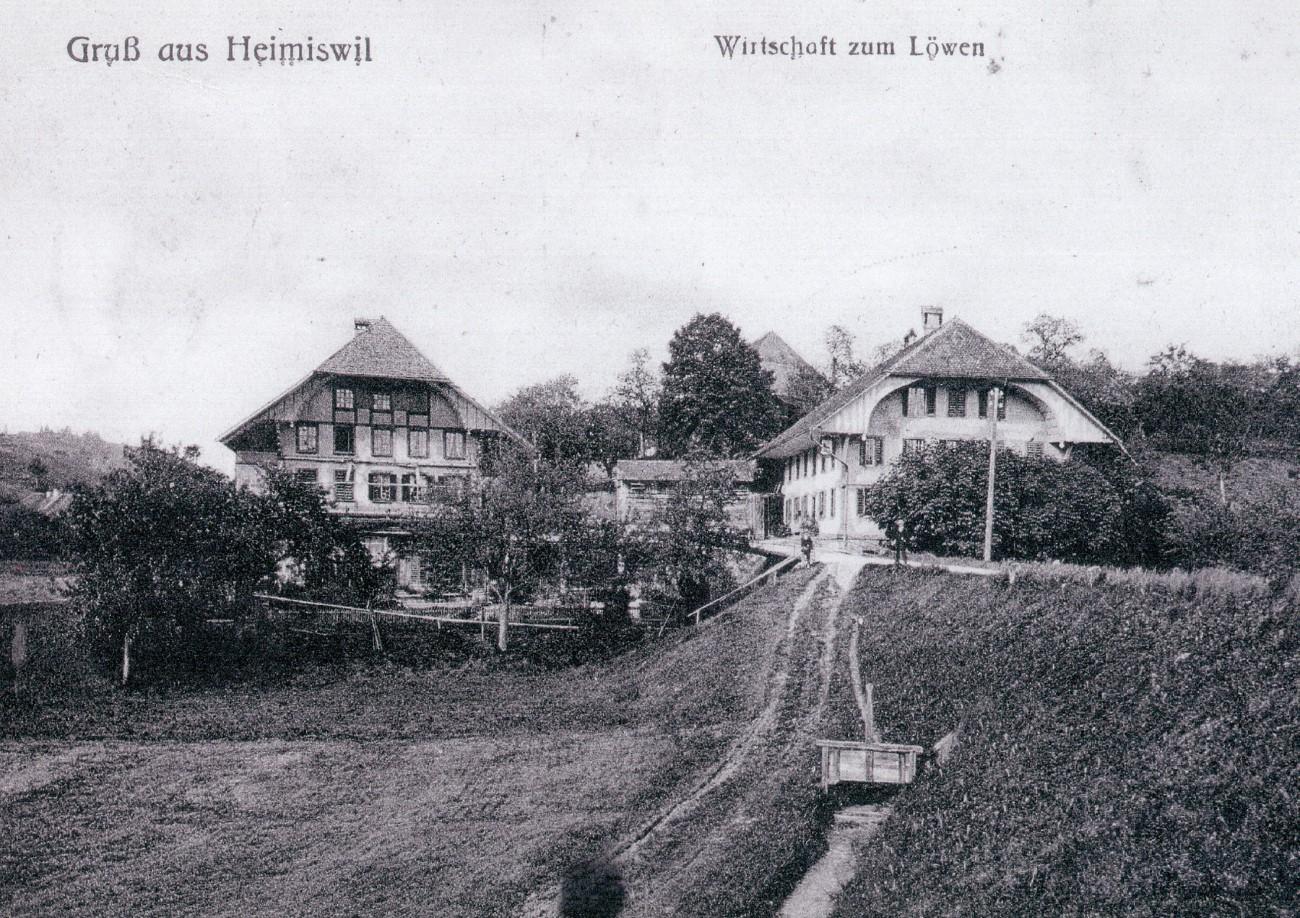 Gasthof Löwen Heimiswil (Archiv)