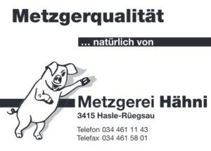 Metzgerei-Haehni